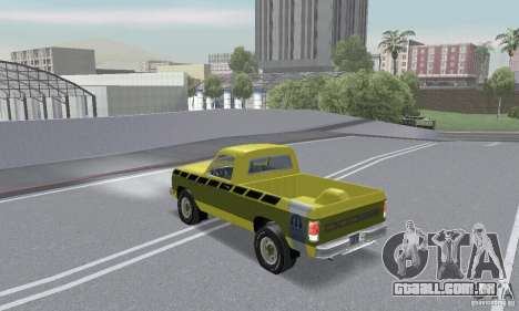 Dodge Prospector 1984 para vista lateral GTA San Andreas