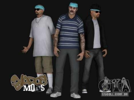 Aztecas HD SkinPack para GTA San Andreas