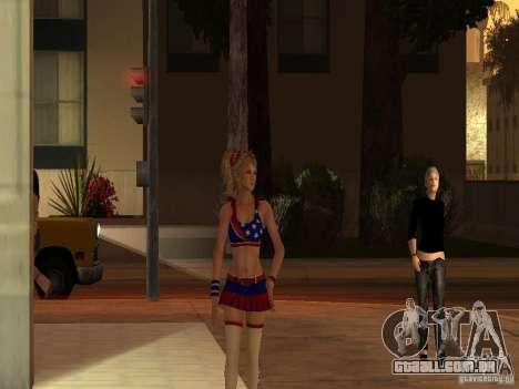 Juliet Starling para GTA San Andreas segunda tela