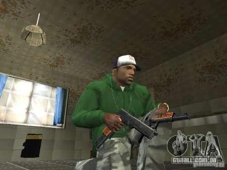 Pak domésticos armas V2 para GTA San Andreas terceira tela
