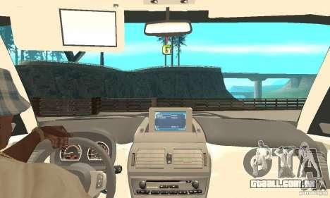 BMW X3 2.5i 2003 para GTA San Andreas vista traseira