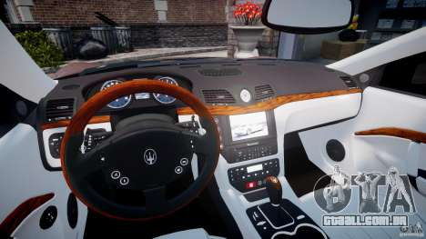 Maserati GranTurismo v1.0 para GTA 4 vista de volta