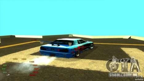 Pack vinil para Elegy para GTA San Andreas sétima tela