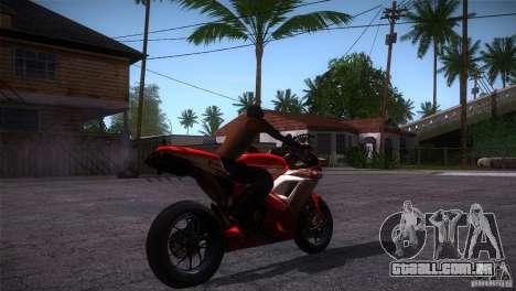 Ducati 1098 para GTA San Andreas vista direita