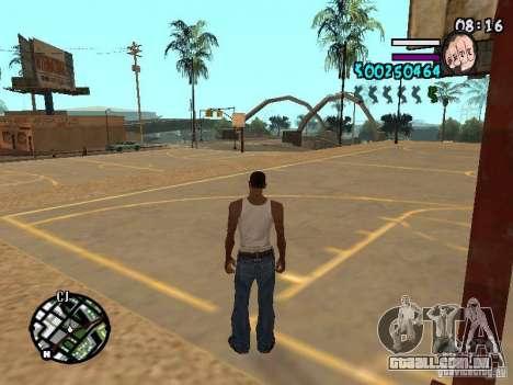HUD by Hot Shot v2.1 para GTA San Andreas segunda tela