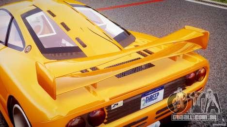 Mc Laren F1 LM v1.0 para GTA 4 interior
