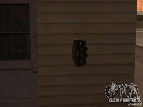 [Point Blank] Brass Knuckles para GTA San Andreas por diante tela