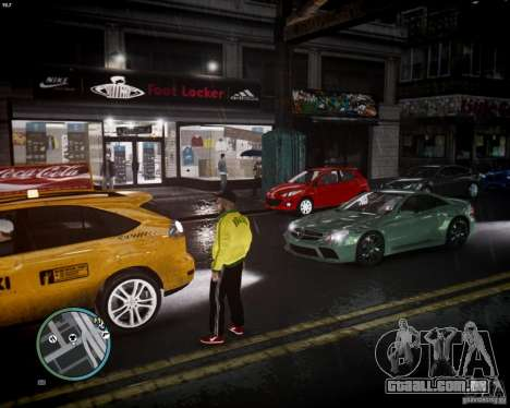 Foot Locker Shop v0.1 para GTA 4 por diante tela