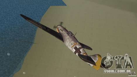 WW2 War Bomber para GTA Vice City vista interior