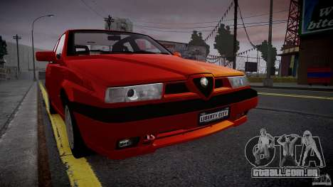 Alfa Romeo 155 Q4 1992 para GTA 4 esquerda vista