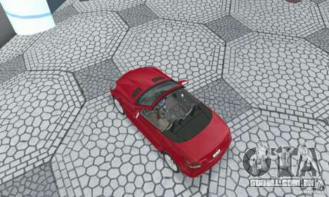 Mercedes-Benz SLK 350 para GTA San Andreas traseira esquerda vista