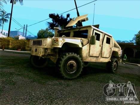 Hummer H1 Irak para GTA San Andreas