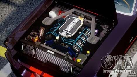 Ford Shelby GT500 1967 para GTA 4 vista direita