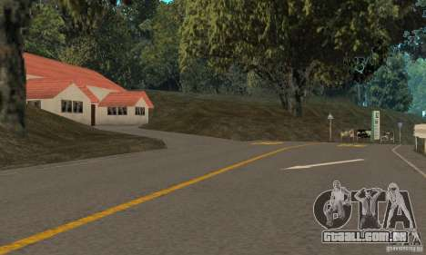 Welcome to AKINA Beta3 para GTA San Andreas quinto tela