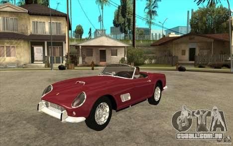 Ferrari 250 California 1957 para GTA San Andreas