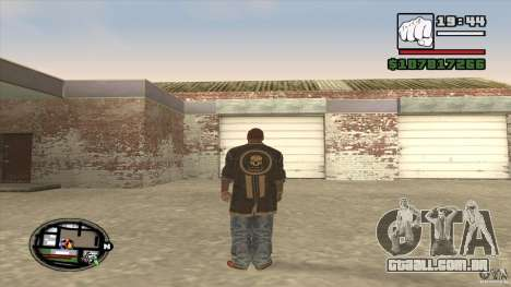 Sam B from Dead Island para GTA San Andreas por diante tela