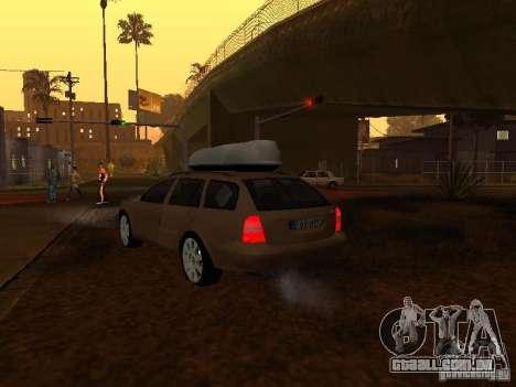 Skoda Octavia para o motor de GTA San Andreas