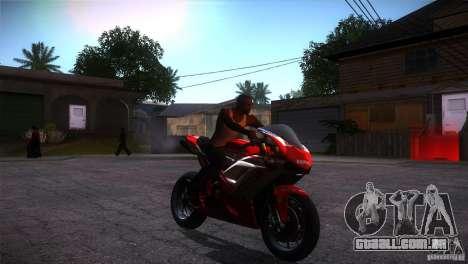 Ducati 1098 para GTA San Andreas vista traseira