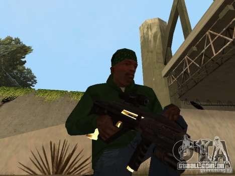 Armas de ouro de Pak para GTA San Andreas sétima tela