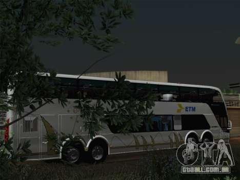 Busscar Panoramico DD 8x2 para o motor de GTA San Andreas