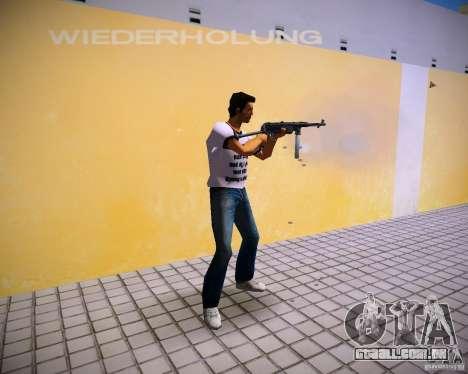 MP-40 para GTA Vice City segunda tela