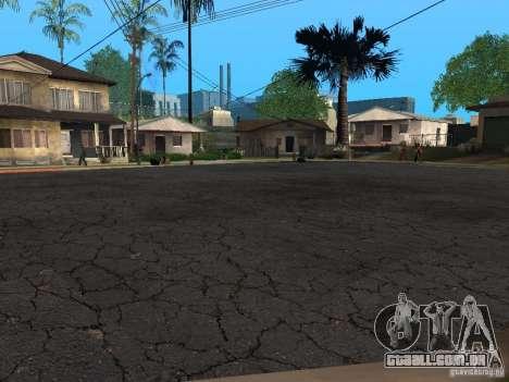 Novas estradas na Grove Street para GTA San Andreas segunda tela