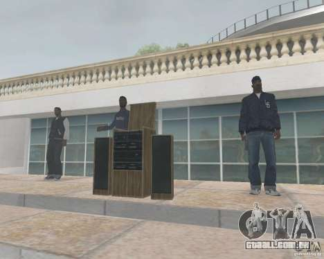 Madd Doggs party para GTA San Andreas segunda tela