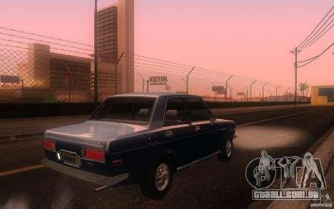 Datsun 510 4doors para GTA San Andreas vista direita
