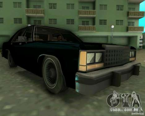 Ford Crown Victora LTD 1985 para GTA Vice City deixou vista