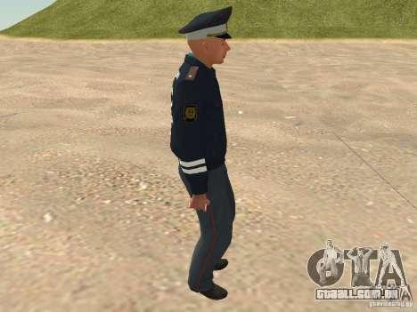 Major DPS para GTA San Andreas por diante tela