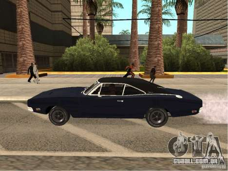 Dodge Charger RT Light Tuning para GTA San Andreas esquerda vista