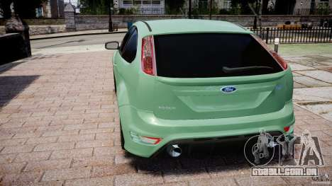 Ford Focus RS para GTA 4 traseira esquerda vista