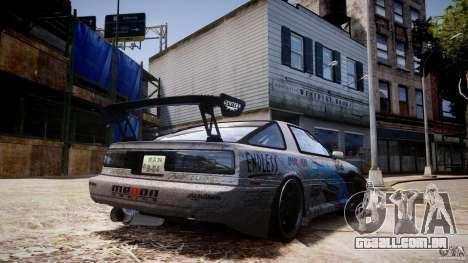 FrostENGINE ENB para GTA 4 por diante tela
