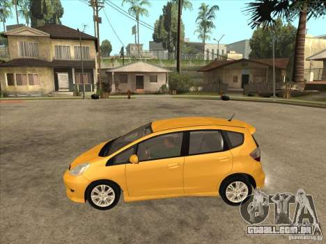 Honda Jazz (Fit) para GTA San Andreas esquerda vista