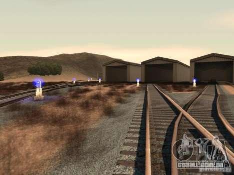 Luzes de tráfego ferroviário 2 para GTA San Andreas quinto tela
