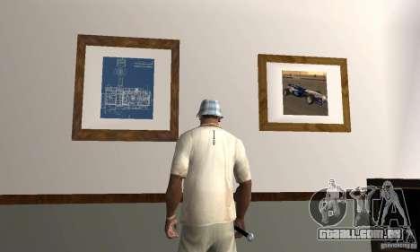 Novos esconderijos interiores para GTA San Andreas terceira tela