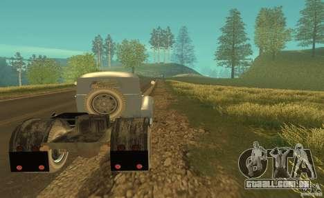 ZIL 164 trator para GTA San Andreas vista direita