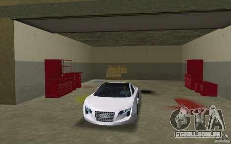 Audi RSQ concept para GTA Vice City vista traseira