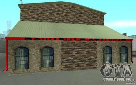 Estação de fogo russa em San Fierro para GTA San Andreas segunda tela