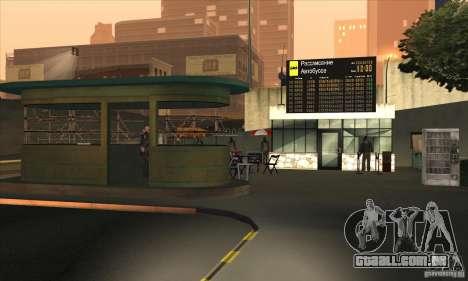 BUSmod para GTA San Andreas sexta tela
