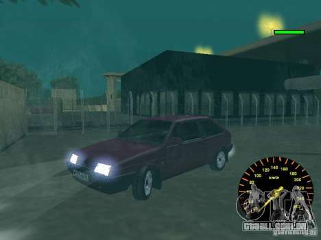 VAZ 2108 clássico para GTA San Andreas vista traseira