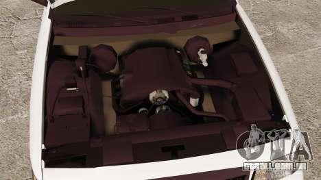 Ford Crown Victoria Unmarked ELS para GTA 4 vista de volta
