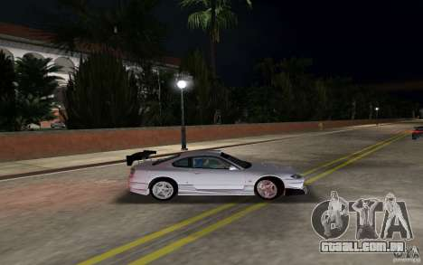 Nissan Silvia spec R Tuned para GTA Vice City deixou vista