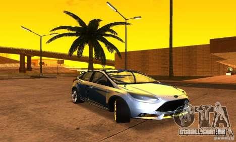 Ford Focus 3 para GTA San Andreas vista direita