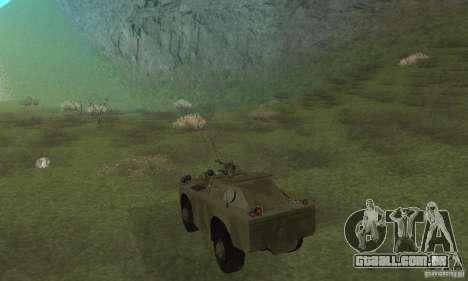 BRDM-1 pele 3 para GTA San Andreas vista direita