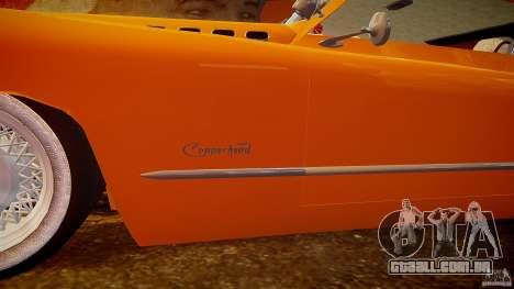 Buick Custom Copperhead 1950 para GTA 4 motor