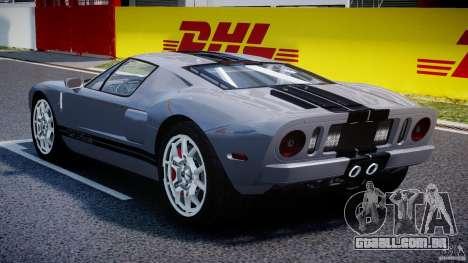 Ford GT 2006 v1.0 para GTA 4 vista direita
