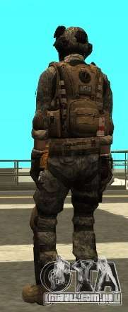 USA Army Special Forces (FIXED) para GTA San Andreas terceira tela