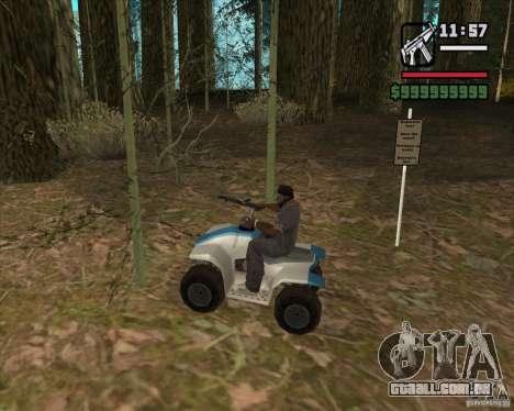 Caçador de casa v. 3.0 Final para GTA San Andreas oitavo tela