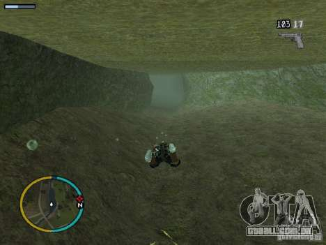 GTA IV HUD v2 by shama123 para GTA San Andreas sétima tela